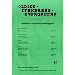 Oldies Standards Evergreens Band 36: für Klavier und Combo Klavierpartitur und Stimmensatz