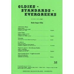 Oldies Standards Evergreens Band 35 : für Klavier und Combo Klavierpartitur und Stimmensatz