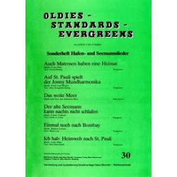 Oldies Standards Evergreens Band 30 : für Klavier und Combo Klavierpartitur und Stimmen