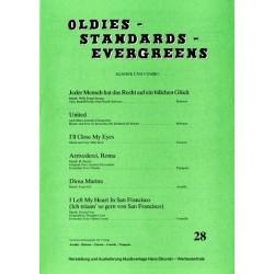 Oldies Standards Evergreens Band 28 : für Klavier und Combo Klavierpartitur und Stimmen