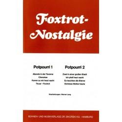 Foxtrot-Nostalgie Potpourri 1/2 : f├╝r Combo Stimmen