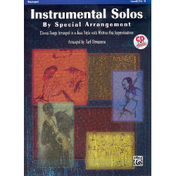 Instrumental Solos (+CD) : for trumpet