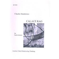 Mandonico, Claudio: Calace Rag : für 2 Mandolinen, Mandola, Gitarre, Mandoloncello und Kontrabass Partitur