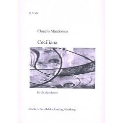 Mandonico, Claudio: Celiliana : für 2 Mandolinen, Mandola, Gitarre, Mandoloncello und Kontrabass, Partitur