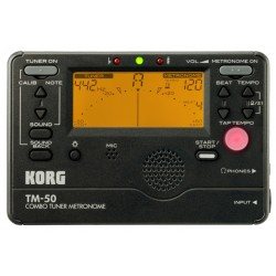 KORG TM-50 Tuner/Metronom schwarz