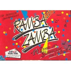 Ramba Zamba Band 2 : f├╝r diatonische Handharmonika (14 Schunkel- und Stimmungslieder zum Mitsingen)