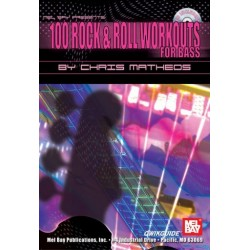 Matheos, Chris: 100 Rock and Roll Workouts (+CD) : for bass