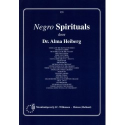 Negro Spirituals : for vocal and piano Heiberg, Alma, Hrsg.