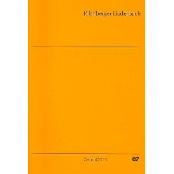 Kilchberger Liederbuch : 58 einfache Sätze im alten Stil für 3 gleiche Stimmen Partitur