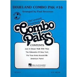 Dixiland Combo Pak vol.16 (+MC) : for combo Severson, Paul, arr.