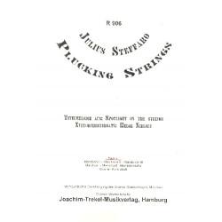 Steffaro, Julius: Plucking strings : f├╝r Mandolinenorchester Partitur