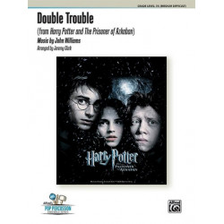 Williams, John *1932: Double Trouble : for percussion ensemble (7 players) score and parts