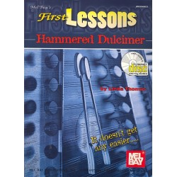 Thomas, Linda: First Lessons Hammered Dulcimer (+CD) : It doesn't get any easier