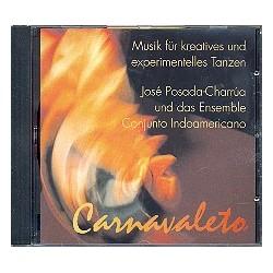 Carnavaleto CD Musik für kreatives und experimentelles Tanzen