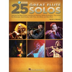 25 great Flute Solos (+Aiudio Online) : for flute