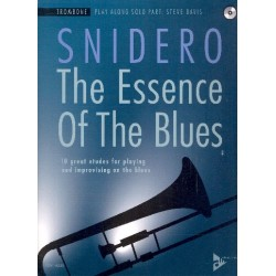 Snidero, Jim: The Essence of the Blues (+CD) : für Posaune (dt/en)