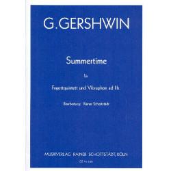 Gershwin, George: Summertime : füer 5 Fagotte und Vibraphon ad lib. Partitur und Stimmen