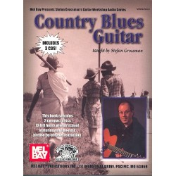 Country Blues Guitar (+3 CD's) : Grossman, Stefan, Ed.