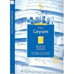 Geysen, Frans: Flaschenmusik : f├╝r 4 Spieler und 16 Flaschen Partitur und Stimmen