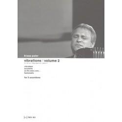 Paier, Klaus: Vibrations vol.2 : for 3 accordions score and parts