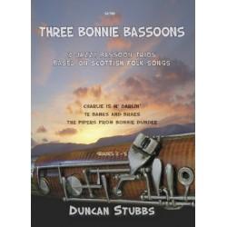 3 Bonnie Bassoons 3 Jazzy Trios for 3 Bassoons based on scottish folk songs Stubbs, Duncan, arr.
