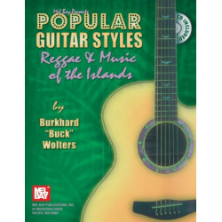 Wolters, Burkhard Buck: Popular Guitar Styles Reggae and Music of the Islands (+CD)