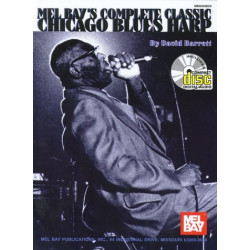 Complete Classic Chicago Blues Harp (+CD) Barrett, David, Ed