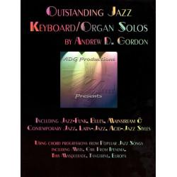 Gordon, Andrew D.: Outstanding Jazz Keyboard Solos (+CD): for keyboard/organ
