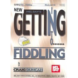 Duncan, Craig: Getting to Fiddling (+CD): Method for violin