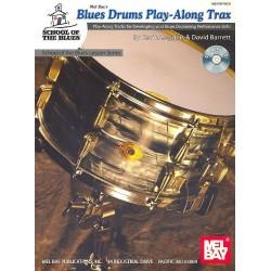 Barrett, David: Blues Drums Playalong Tracks (+CD) : School of the Blues Lesson Series Coggins, Kevin, Ed