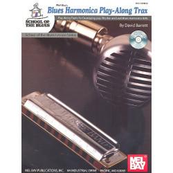 Barrett, David: Blues Harmonica Playalong Trax (+CD) : School of the Blues Lesson Series