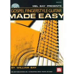 Gospel Fingerstyle Guitar Made Easy (+CD)