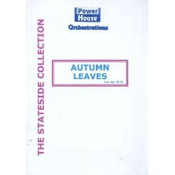 Kosma, Joseph: Autumn Leaves : f├╝r Gesang und Big Band Partitur und Stimmen