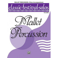 Mallet Percussion vol.2 : piano accompaniment