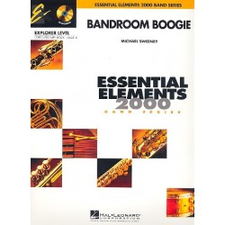 Sweeney, Michael: Bandroom Boogie (+CD) : for concert band score+parts