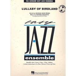 Shearing, George: Lullaby of Birdland : for concert band score+parts