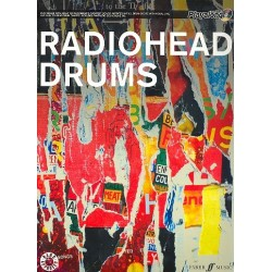 Radiohead (+CD) : Authentic Drums playalong