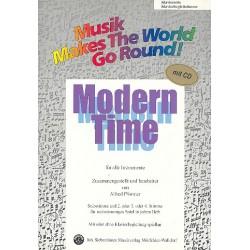 Modern Time (+CD) : für flexibles Ensemble Klaviersolo/Klavierbegleitstimme