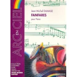 Damase, Jean-Michel: Fanfares : pour piano