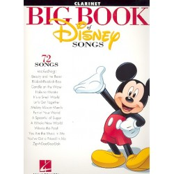 Big Book of Disney Songs : for clarinet