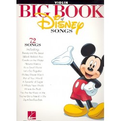 Big Book of Disney Songs : for violin