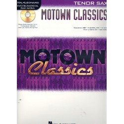 Motown Classics (+CD) : for tenor saxophone
