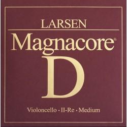 Larsen Magnacore Cellosaite D 4/4 - hart