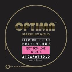 Optima Saiten für E-Gitarre Gold Strings. Maxiflex Satz E-Gitarrensaiten
