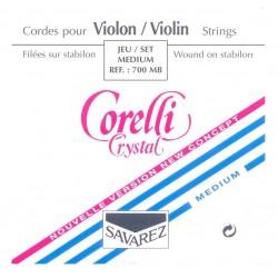 Corelli Crystal Violinsaite E 4/4 (Kugel) - mittel