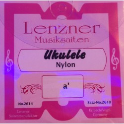 LENZNER Musiksaiten Ukulele Nylon (Sopran)