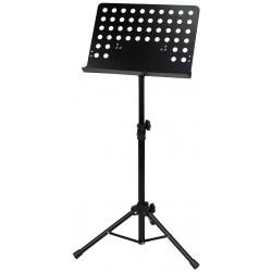 GEWA Orchesterpult Lochplatte, schwarz