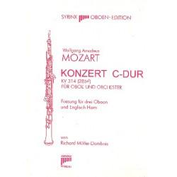 Mozart, Wolfgang Amadeus: Konzert C-Dur : für 3 Oboen und Englischhorn Partitur und Stimmen
