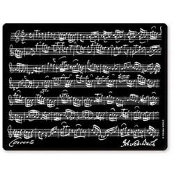 Mousepad Bach Schwarz