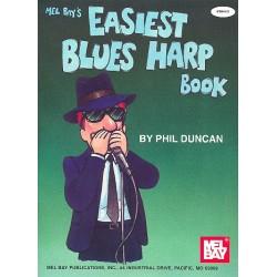 Duncan, Phil: Easiest Blues Harp Book